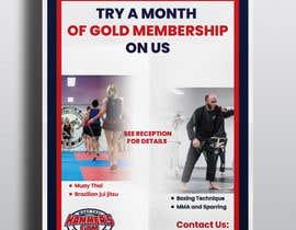 #9 untuk Upgrade to Gold Membership Flyer oleh DesignerMuhammad