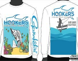 #44 for Design a long sleeve UV fishing top/hoodie af arafatrahman913
