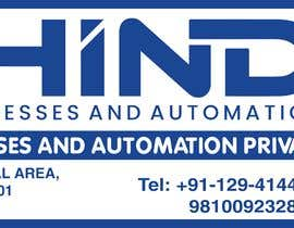 #1 para Design address name plate for printing on flex or sunboard por Abhishekx1