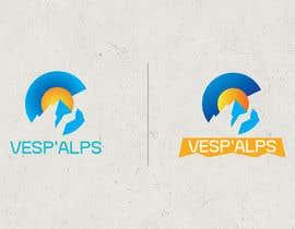 #17 for Logo Vesp'Alps af designerFibonacc
