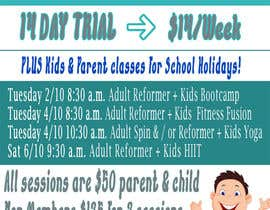#14 untuk Flyer for School holidays oleh gpm10creativo