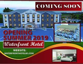 #16 for sign/banner for new hotel coming soon by NazMalik004