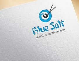 Nro 1151 kilpailuun Design a Logo for Blue Salt sushi and ceviche bar käyttäjältä tontonmaboloc