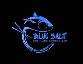 Nro 1087 kilpailuun Design a Logo for Blue Salt sushi and ceviche bar käyttäjältä rachidDesigner