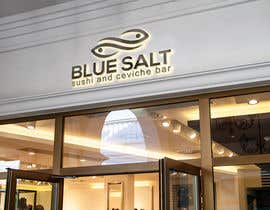 Nro 875 kilpailuun Design a Logo for Blue Salt sushi and ceviche bar käyttäjältä biutibegum435