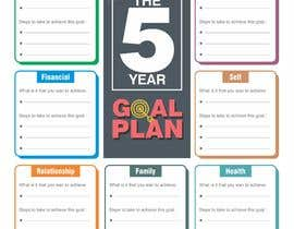 #83 para Design a new graphic for a 5 year plan activity por MDSUHAILK