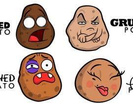 nº 31 pour Draw 4 funny facial expressions - $100 for first job par CiroDavid
