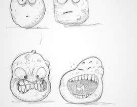 nº 29 pour Draw 4 funny facial expressions - $100 for first job par D3baser