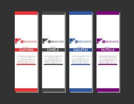#11 para Diseño de ETIQUETAS / Label design de Josesin1510