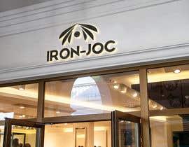 #196 dla Logo for Iron-Jocs Sportswear przez eslammahran