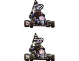 #21 for Cartoon Kart Vector Illustration by teesonw5