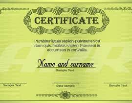 Nro 9 kilpailuun Certificate design - authenticity käyttäjältä tahmidula1
