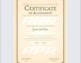 Nro 10 kilpailuun Certificate design - authenticity käyttäjältä tahmidula1