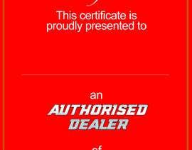 Nro 27 kilpailuun Certificate design - authenticity käyttäjältä danettelinde