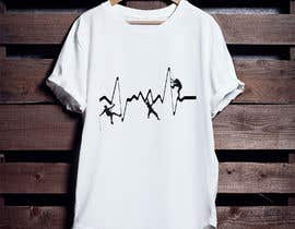 #4 for T-shirt design with heartbeat theme by pgaak2