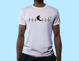 #58 untuk T-shirt design with heartbeat theme oleh robiulhossi
