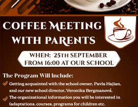 #16 для Create a coffee invitation for preschool parents от kashifali239