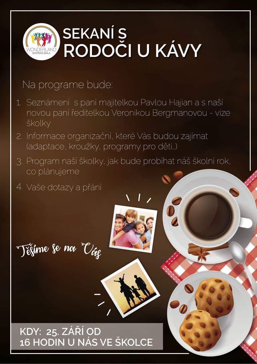 Конкурсная заявка №22 для Create a coffee invitation for preschool parents