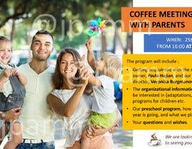 #8 для Create a coffee invitation for preschool parents от jennefer08