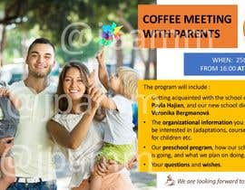 #21 для Create a coffee invitation for preschool parents от jennefer08