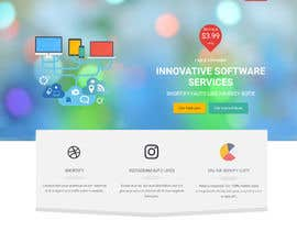 #9 for One Page Services Launch Website by codervai