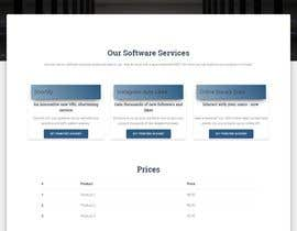 #5 for One Page Services Launch Website by Revots