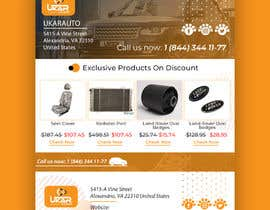 #27 untuk Email template design for online auto parts store. oleh jaswinder527