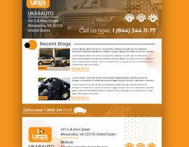 #28 untuk Email template design for online auto parts store. oleh jaswinder527