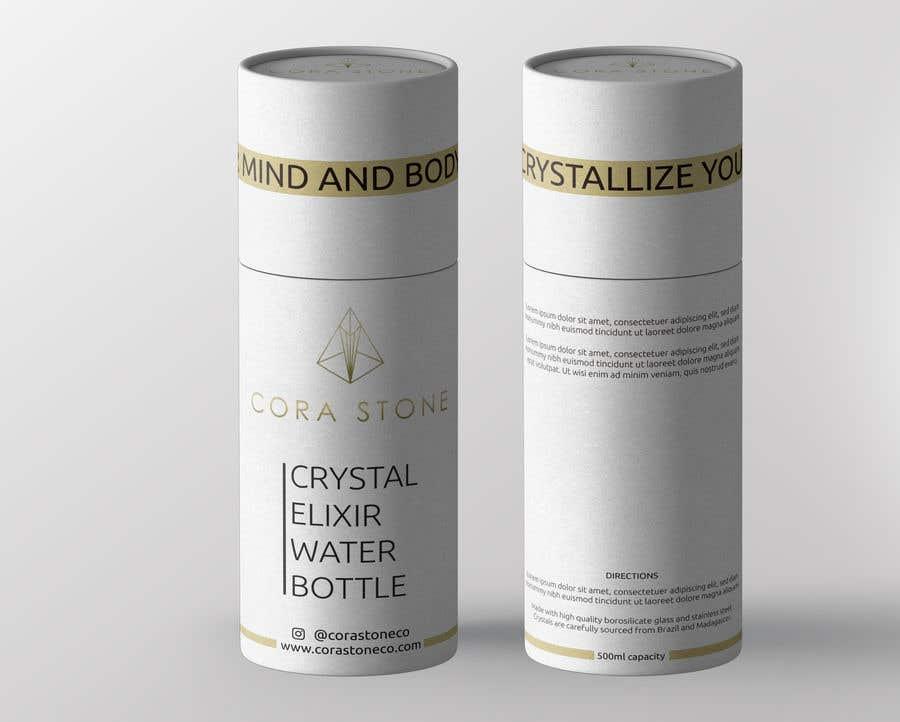 Proposition n°28 du concours Cylinder Box Design for Water Bottle