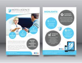 #29 for A5 Flyer iHotelligence af darbarg
