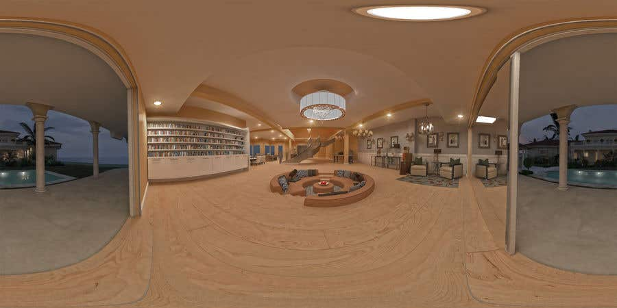 Entry #32 by johnnymadrigal for contest for 360° panorama 3D