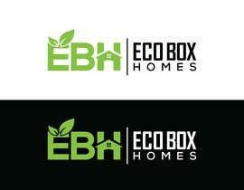 Nro 729 kilpailuun Logo for Eco Box Homes käyttäjältä ssdesignz19