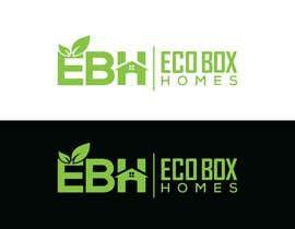 Nro 731 kilpailuun Logo for Eco Box Homes käyttäjältä ssdesignz19