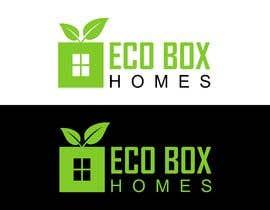 Nro 656 kilpailuun Logo for Eco Box Homes käyttäjältä bucekcentro