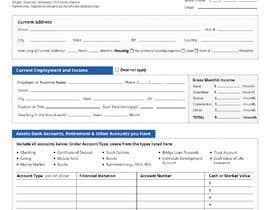 Nro 19 kilpailuun Make a pdf form fillable käyttäjältä WebCraft111