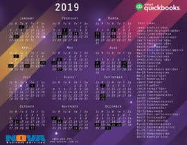 #10 za Design Business Calendar Mouse Pad 2019 od peinadol
