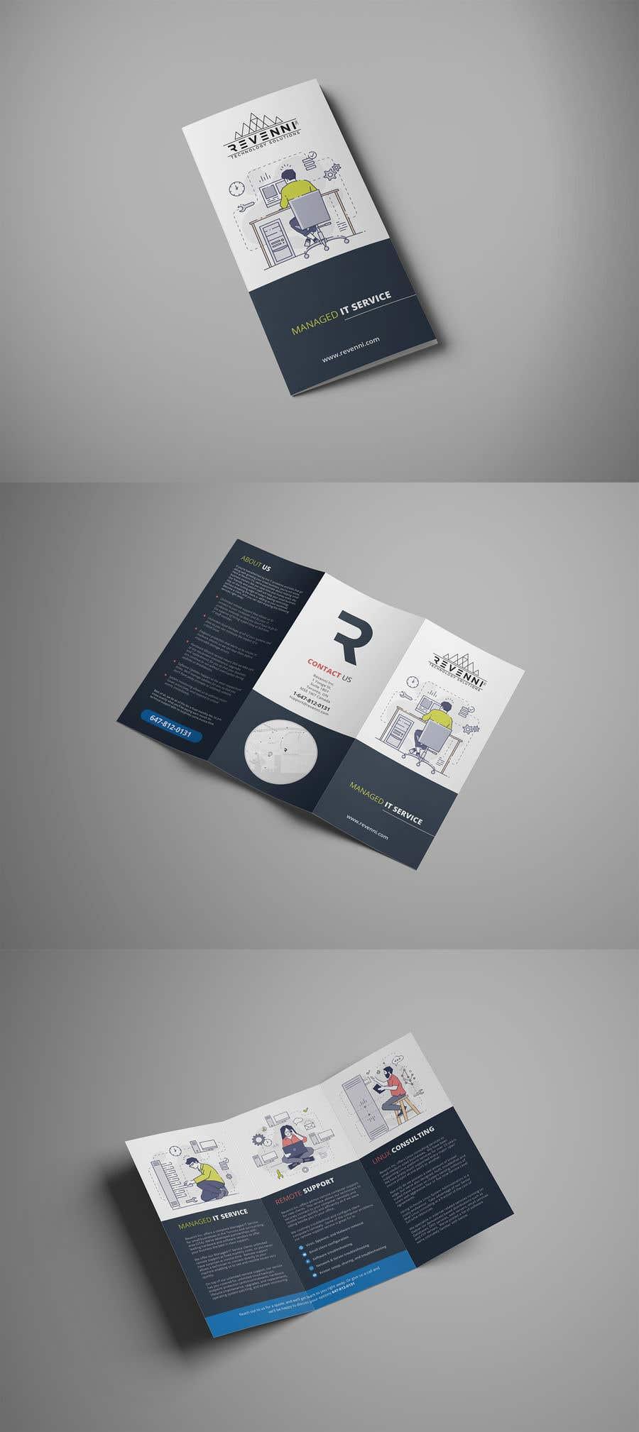 Inscrição nº 12 do Concurso para Color Tri Fold Business Brochure