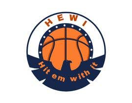 #8 untuk Would like logo to incorporate something with basketball in it. The name I would like to have with it is Hit Em Wit It and HEWI. I have attached an older logo with the name that I would like to have with the logo. oleh tafoortariq