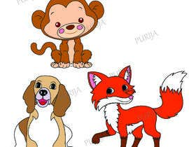 #3 for Design 2D Animal Illustrations for Children's Toy by PURIJA