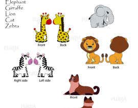 #9 for Design 2D Animal Illustrations for Children's Toy by PURIJA