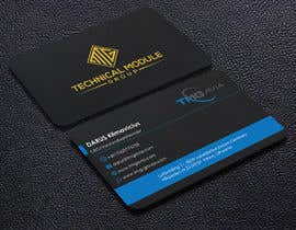 nº 364 pour Design an authentic and very luxury business card for a company par yes321456