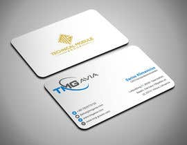 nº 128 pour Design an authentic and very luxury business card for a company par ABwadud11