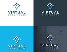 #101 untuk Virtual Open House - Logo oleh timeDesignz