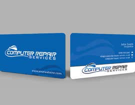 #87 for Design some Business Cards for computer repair by nishadhi1989