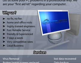 #17 cho Design a Flyer for Computer Repairs bởi eternalsnow