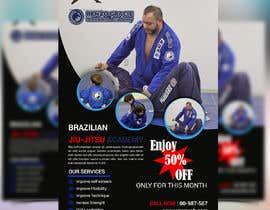 #9 สำหรับ I need a martial arts flyer for a Brazilian jiu-jitsu academy โดย mbelal292