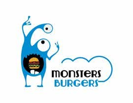 #53 para I wanna make logo for a restaurant,, the restaurant name ( monsters burgers) i post some photos I would like if the logo like thise stuff they looks like what i am imagination for the monster. de lacta84