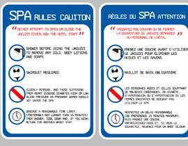 #7 for Banner Design for Spa Rules by fedoratheexplode