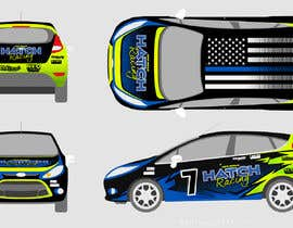 nº 58 pour Rally Car Vehicle Wrap par rozq