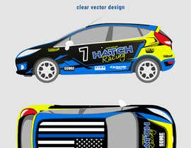 nº 62 pour Rally Car Vehicle Wrap par rozq